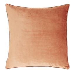 Плюшевая подушка в теплой цветовой гамме NIGELLA 50*50 (Copper)