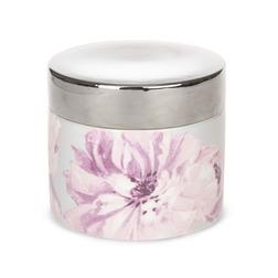 Ароматическая свеча с запахом бергамота и липовых цветов BERGAMOT & LIME BLOSSOM 9*10 (Silver)