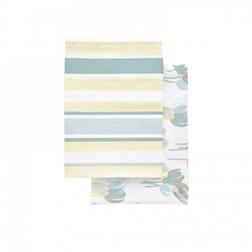 Набор кухонных полотенец в голубой гамме AVA SET OF 2 TEA TOWELS 50*70 (Мulti)