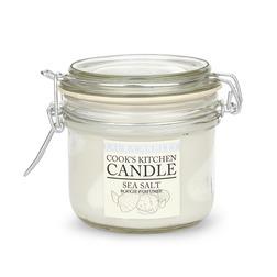 Ароматическая свеча с ароматом морского прибоя COOKS KITCHEN SEA SALT 8,5*8 (Seaspray)