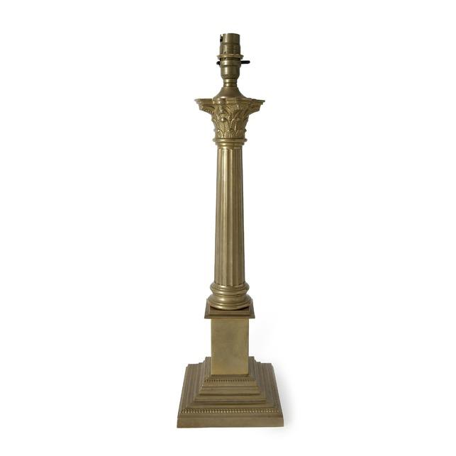 База массивная с квадратным основанием Corintian (Antique Brass)