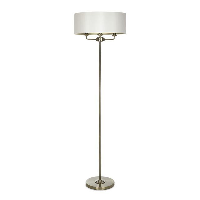 Торшер бронзового цвета на три лампочки SORRENTO FLOOR LAMP 160*47 (Antique Brass)
