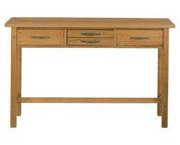 Консольный стол цвета натурального дуба MILTON CONSOLE TABLE 80*130*35 (OAK )