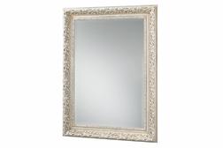 Прямоугольное зеркало в роскошной раме цвета слоновой кости LUCIA (Ivory)