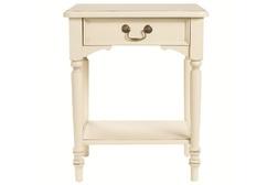 Прикроватная тумбочка цвета слоновой кости CLIFTON SIDE TABLE 62*50*38 (Ivory)