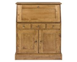 Деревянное бюро медового цвета GARRAT BUREAU 110*90*38 (Honey)