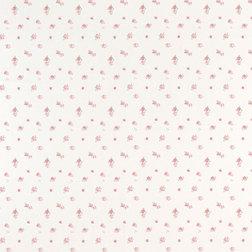 Бумажные обои в мелкие цветы  ABBEVILLE (Pink)