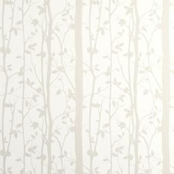Бумажные обои с растительным рисунком COTTONWOOD (White)