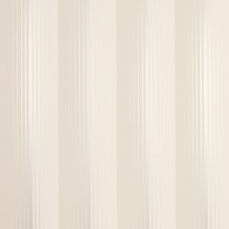 Бумажные обои в вертикальную полоску бежево-серого цвета DRAPER STRIPE (Sable)