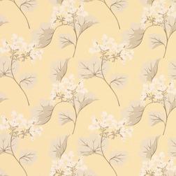 Бумажные обои жёлтого цвета в крупные цветы MILLWOOD (Camomile)