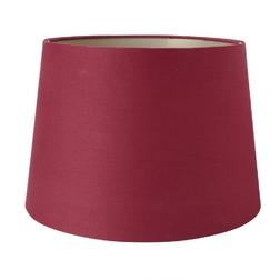 Красивый абажур красного цвета 12 CRANBERRY & GOLD