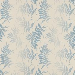 Тонкие бумажные обои с рисунком листьев BRACKEN (Seaspray)