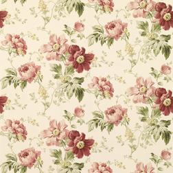 Обои с роскошным цветочным рисунком пионов PEONY GARDEN (Cranberry)