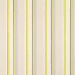 Бумажные обои в вертикальную полоску желто-оливкового цвета EATON STRIPE (Olive)