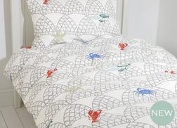 Набор одинарный постели для детей с морской живностью SALCOMBE SG 137*200 (Multi)