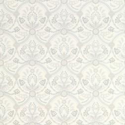 Бумажные обои с цветочным рисунком в серо-голубой гамме ALMEIDA (Seaspray)