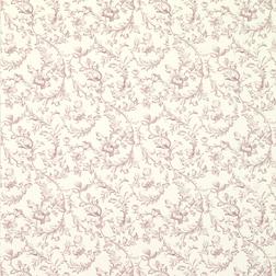 Бумажные обои с цветочным рисунком светло-фиолетового цвета IRONWORK SCROLL (Amethyst)
