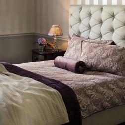 Роскошный набор постели с самым большим пододеяльником фиолетового цвета BROOKFIELD KG