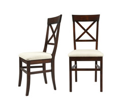Набор обеденных стульев с мягкой сидушкой BALMORAL Pair DINING 98*46*52 (Chestnut)