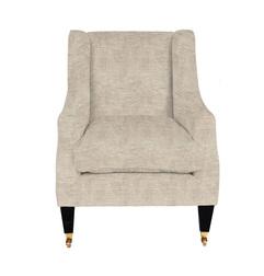 Кресло в вельветовой ткани ADDISON 98*74*89 (Band D/Villandry Sable)