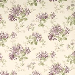 Бумажные обои в фиолетовые цветы HONEYSUCKLE TRAIL (Grape)