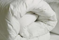 Одеяло самого большого размера наполнено микроволокном DUVET 4.5 TOG SK 220*260 MICROFIBRE (White)