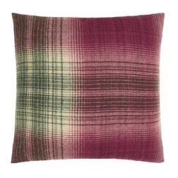 Декоративная подушка квадратной формы в клетку STIRLING CHECK 55*55 (Cranberry)