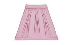 Абажур квадратной формы светло-розового цвета 7.5 FENN SQUARE (Cyclamen)