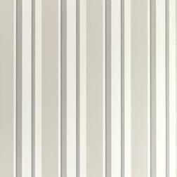 Бумажные обои в вертикальную полоску EATON STRIPE (Silver)