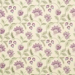 Ткань с рисунком цветов в фиолетовой гамме MILFORD (Grape)