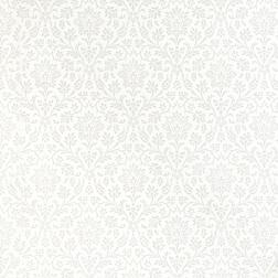 Белые обои с цветочным рисунком ANNECY (White/Dove Grey)