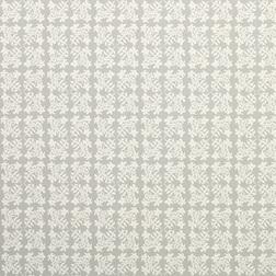 Обои серебристого цвета с цветочным рисунком GREENWICH (Steel)