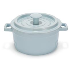 Небольшая керамическая кастрюля нежно-голубого цвета CASSEROLE DISH MEDIUM 21*16*12,5 (Seaspray)