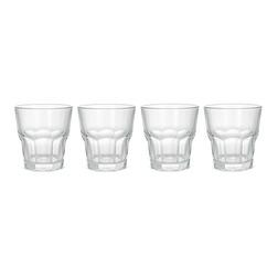 Набор стаканов из прозрачного стекла TUMBLERS SET OF 4 9*9,5 (Clear)