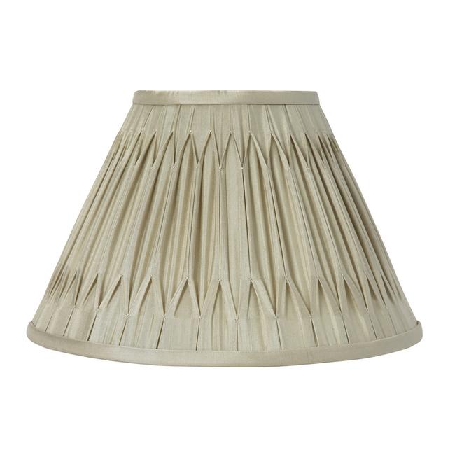 Красивый абажур приятного серо-бежевого цвета 10 FENN (Bamboo)