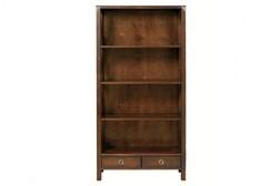 Большой книжный шкаф каштанового цвета BALMORAL BOOKCASE 176*90*35 (Chestnut)
