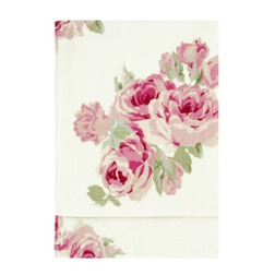 Банное полотенце в крупные цветы розы COUTURE ROSE 70*127