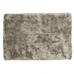 Мягкий ворсистый ковер бежево-серого цвета LAWLER 120*180 (Smoke)
