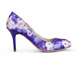 Тканевые туфли в фиолетовых тонах SL 843