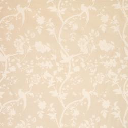 Гардинная ткань светло-бежевого цвета ORIENTAL GARDEN (Linen)
