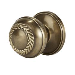 Дверная ручка цвета латуни JOSETTE DOOR KNOB Ø7,6/8,6 (Antique Brass)