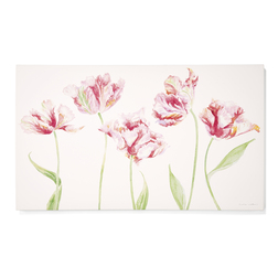 Картина с цветами тюльпана TULIP CANVAS 80*48 (Multi)