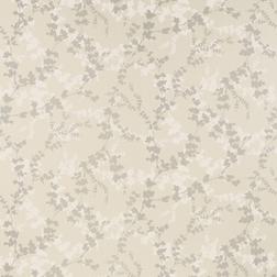 Бумажные обои с растительным рисунком на фоне светло-бежевого цвета  HAWTHORN (Pale Bamboo)