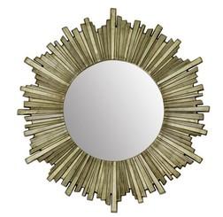 Стильное настенное зеркало LOVELL ROUND Ø99 (Champagne)
