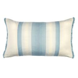 Прямоугольная подушка в голубую полоску CORSHAM 30*50 (Seaspray)