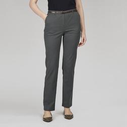Стрейчевые брюки чинос темно-серого цвета с тонким ремешком TR 127