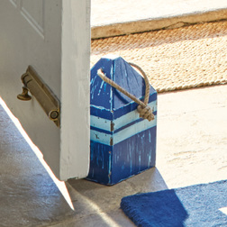 Оригинальный ограничитель для двери BUOY DOORSTOP 14,5*14,5*29,5 (Blue)
