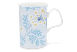 Фарфоровая чашка в голубой гамме SANDFORD MUG 10*7,5 (Blue)