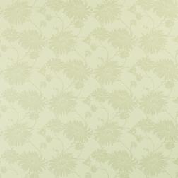 Бумажные обои желтовато-кремового цвета с принтом хризантем KIMONO (Willow)