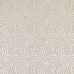 Бумажные обои с изящным рисунком бежевого цвета SERPENTINE (Cream)